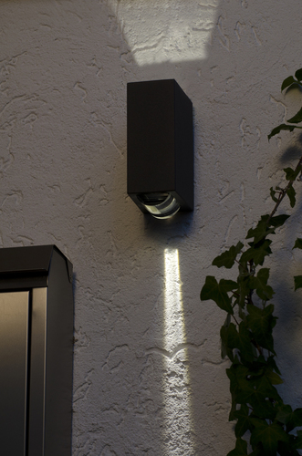 Outdoor wall lamp up & down Lutec EVANS