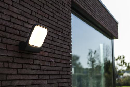 Lutec FACCIA anthracite outdoor wall lamp