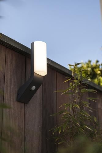 Outdoor wall lamp with motion sensor Lutec BATI