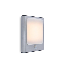 Modern outdoor wall lamp with motion sensor Lutec FACE small 0