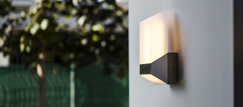 Modern Lutec FLAT outdoor wall lamp