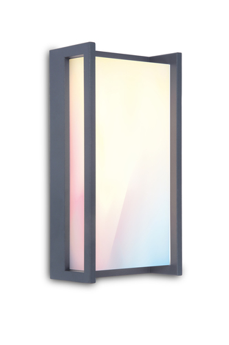 Lutec QUBO outdoor wall lamp