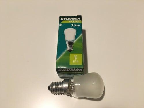 Sylvania Classic 15W E14 bulb