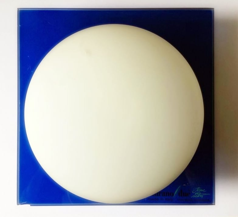 Wall Sconce Murano Due (Leucos) Mini Gio Blue / White 40W G9 (1)