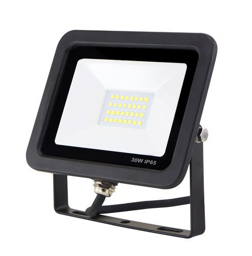 30W / 230V 6400K slim LED floodlight