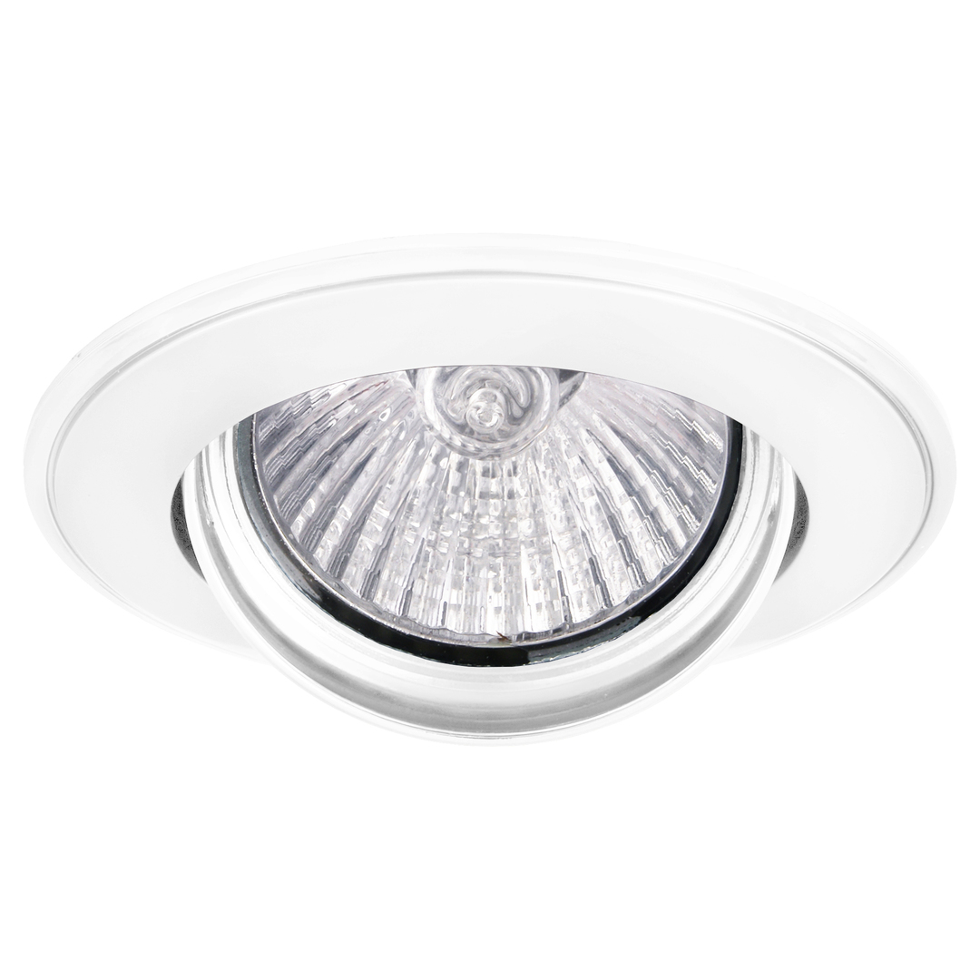 VERDE 50W ceiling spotlight, movable white