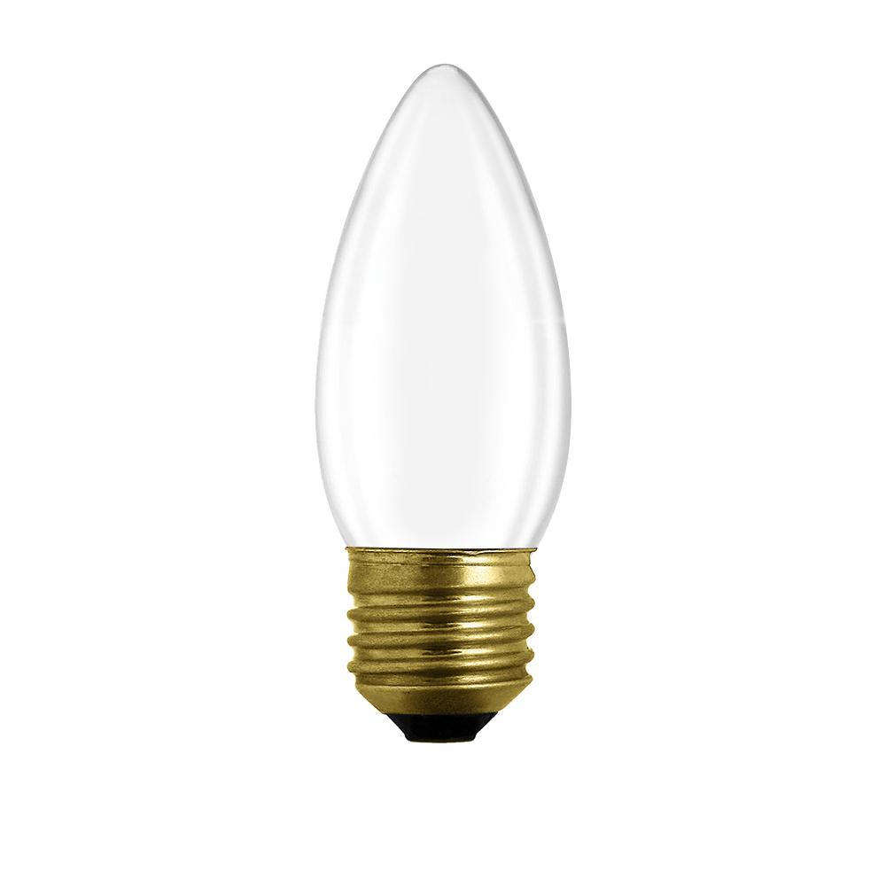 Special matt candle bulb E27 60W