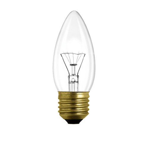 Special candle bulb E27 60W