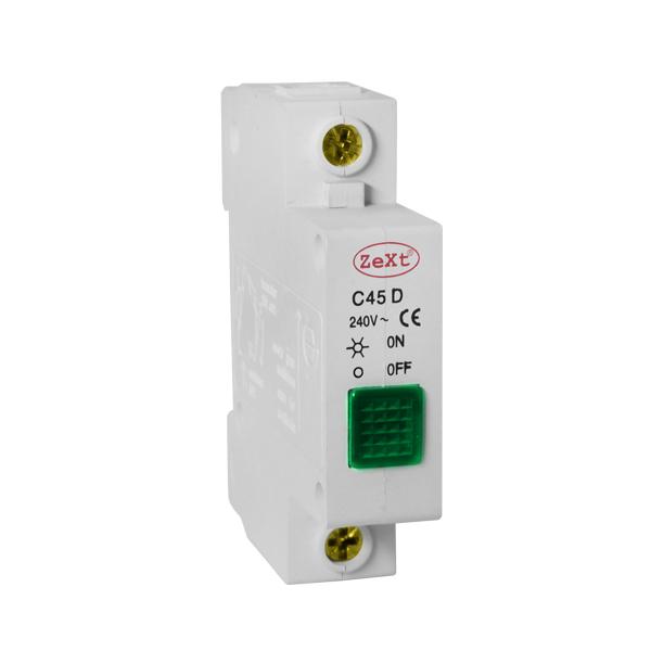 Signal light C45D green