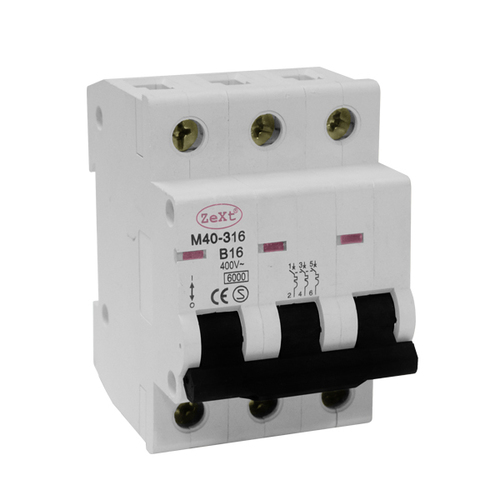 M40 3P B 6A circuit breaker