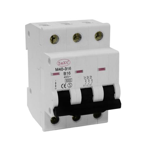 M40 3P B 63A circuit breaker