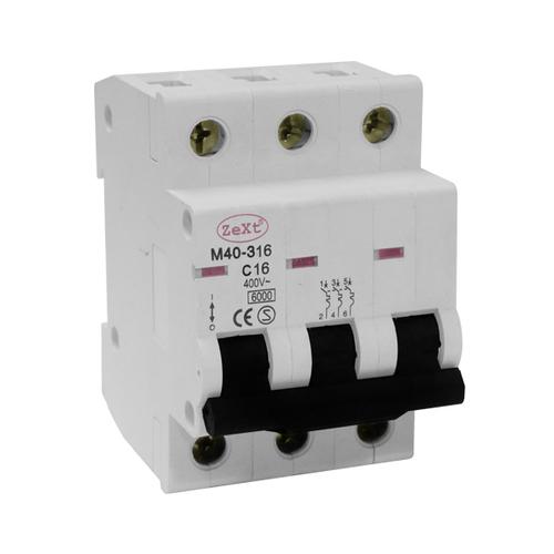 M40 3P C 6A circuit breaker