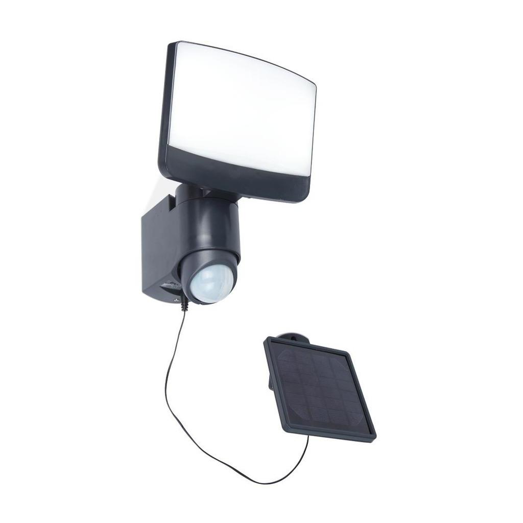 Solar outdoor lamp with Lutec SUNSHINE motion sensor