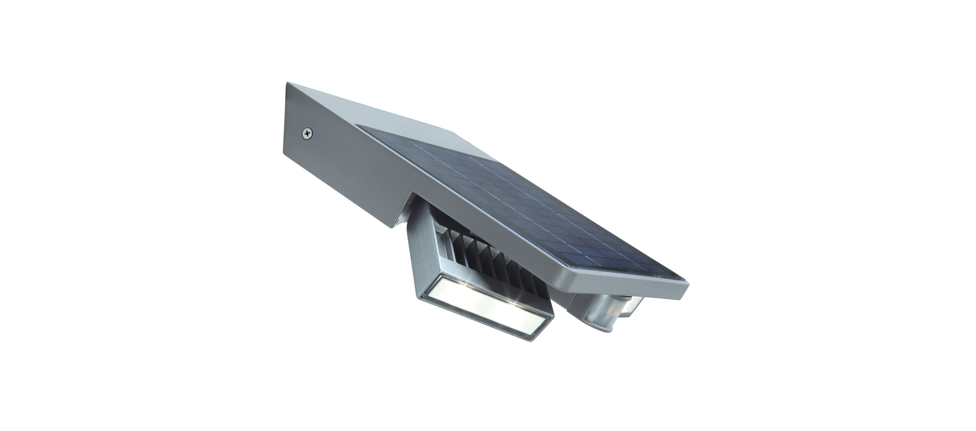 Outdoor solar lamp with Lutec TILLY motion sensor
