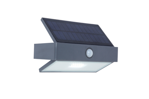 Outdoor solar wall lamp with motion sensor Lutec ARROW