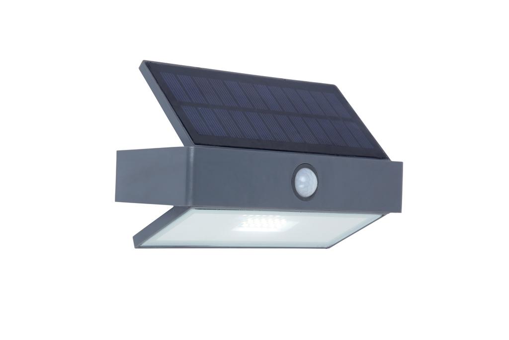 Outdoor solar wall lamp with motion sensor Lutec ARROW