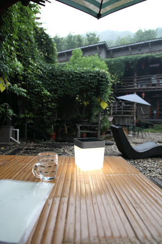 Lutec TABLE CUBE outdoor lamp