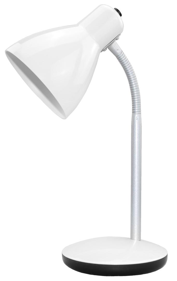 Amy 230V / 15W E27 desk lamp white