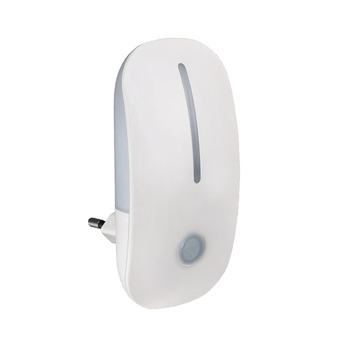 White LED night light with sensor