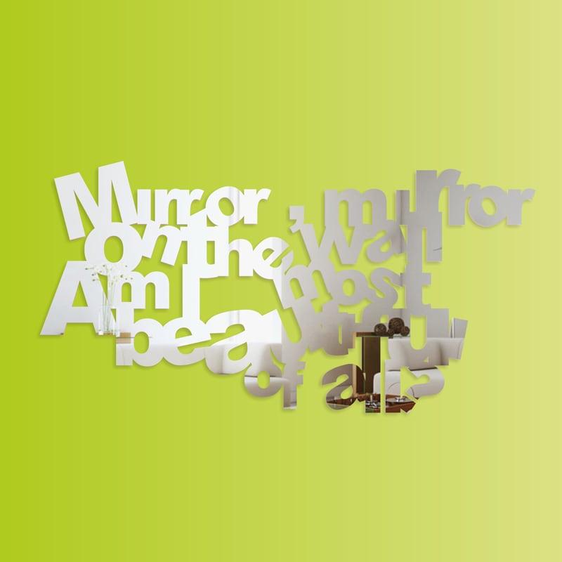 Decorative mirror MIRROR plexi