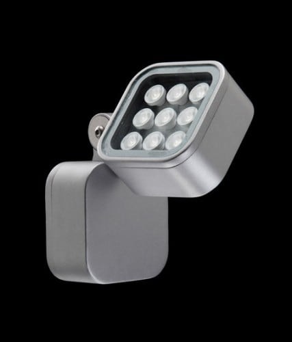Italian outdoor wall light Ares YODA LED
