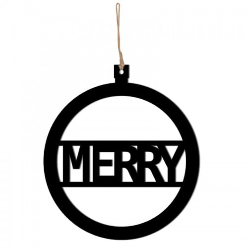 Christmas MERRY pendant