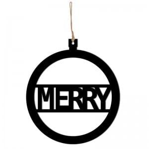 Świąteczna zawieszka MERRY