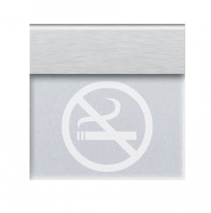 Informatico recessed luminaire NO SMOKING or your own inscription small 0