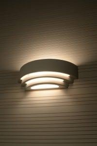 Ceramic wall lamp TRISOL small 3