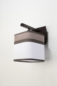 Classic Cappuccino wall lamp for the bedroom small 1
