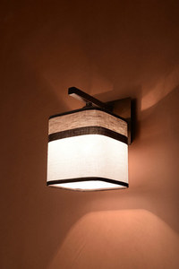 Classic Cappuccino wall lamp for the bedroom small 2