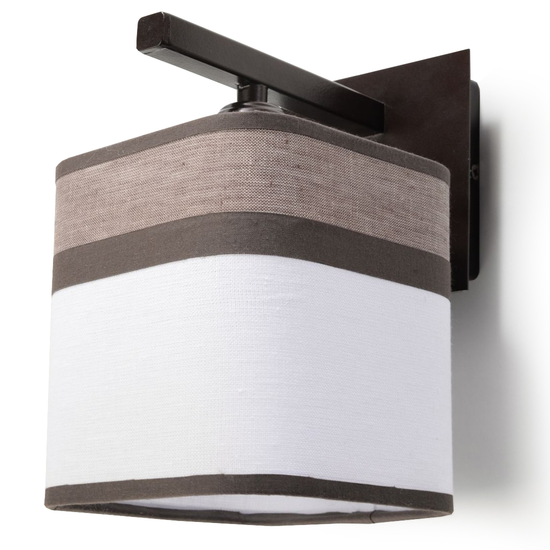 Classic Cappuccino wall lamp for the bedroom