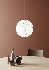 Fabbian Armilla F50 13W table lamp - Gold - F50 B05 12 small 1