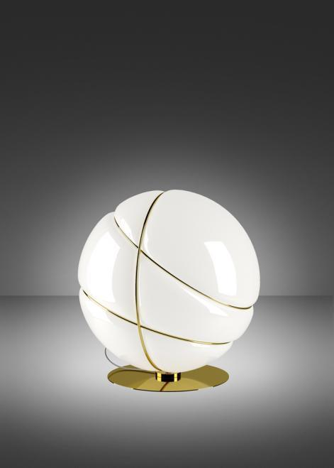 Fabbian Armilla F50 13W table lamp - Gold - F50 B05 12