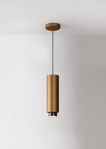 Hanging lamp Fabbian Claque F43 20W 30cm - Bronze - F43 A06 76