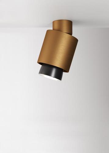 Spotlight Fabbian Claque F43 20W Movable - Bronze - F43 E08 76
