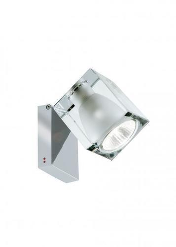 Spotlight Fabbian Cubetto D28 7W Chrome - Transparent - D28 G03 00