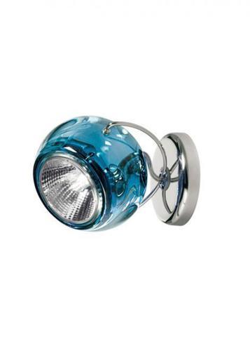 Wall lamp Fabbian Beluga Color D57 7W - blue - D57 G13 31