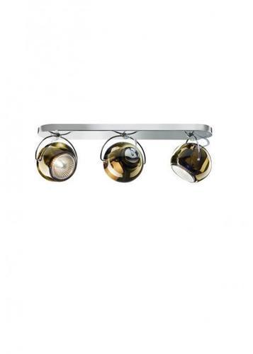 Fabbian Beluga Color D57 7W ceiling lamp Triple - copper - D57 G25 41