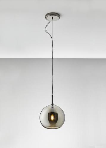 Hanging lamp Fabbian Beluga Royal D57 5W 20cm - Titanium - D57 A57 34