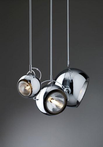 Hanging lamp Fabbian Beluga Steel D57 10W 14cm - D57 A07 15