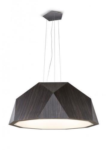 Hanging lamp Fabbian Crio D81 8W 180cm - Dark wood - D81 A17 48