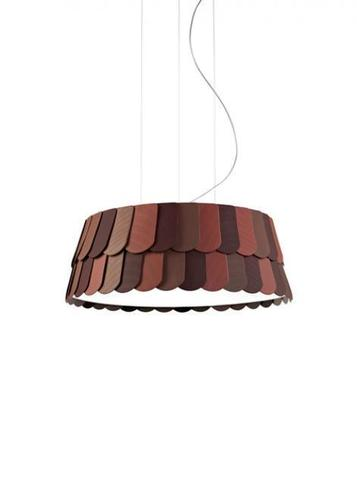 Hanging lamp Fabbian Roofer F12 59cm - orange - F12 A05 32