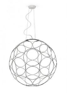 Hanging lamp Fabbian Giro F30 85cm - anthracite - F30 A03 21 small 1
