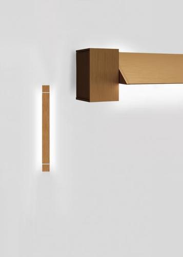 Wall lamp Fabbian Pivot F39 23W 2700K - Bronze - F39 G02 76