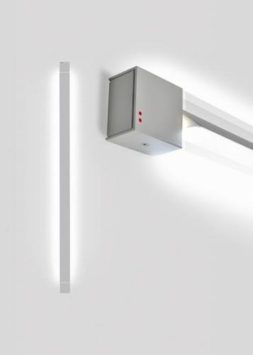 Wall lamp Fabbian Pivot F39 46W 2700K - Light gray - F39 G04 75
