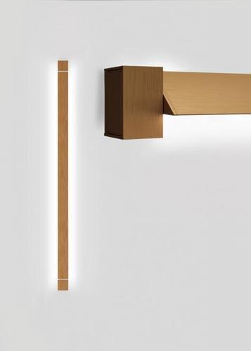 Wall lamp Fabbian Pivot F39 46W 2700K - Bronze - F39 G04 76