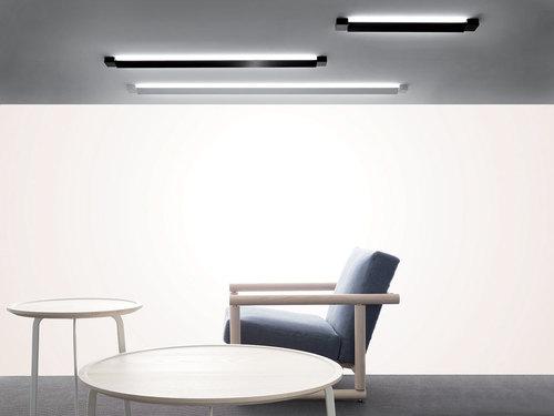 Hanging lamp Fabbian Pivot F39 70W 3000K - White - F39 A01 01