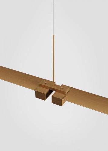 Fabbian Pivot F39 Accessories Double Connector - Bronze - F39 Z01 76