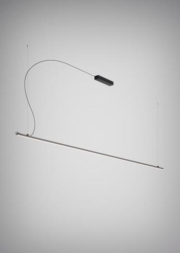 Hanging lamp Fabbian Freeline F44 2W 3m - Black - F44 A06 02